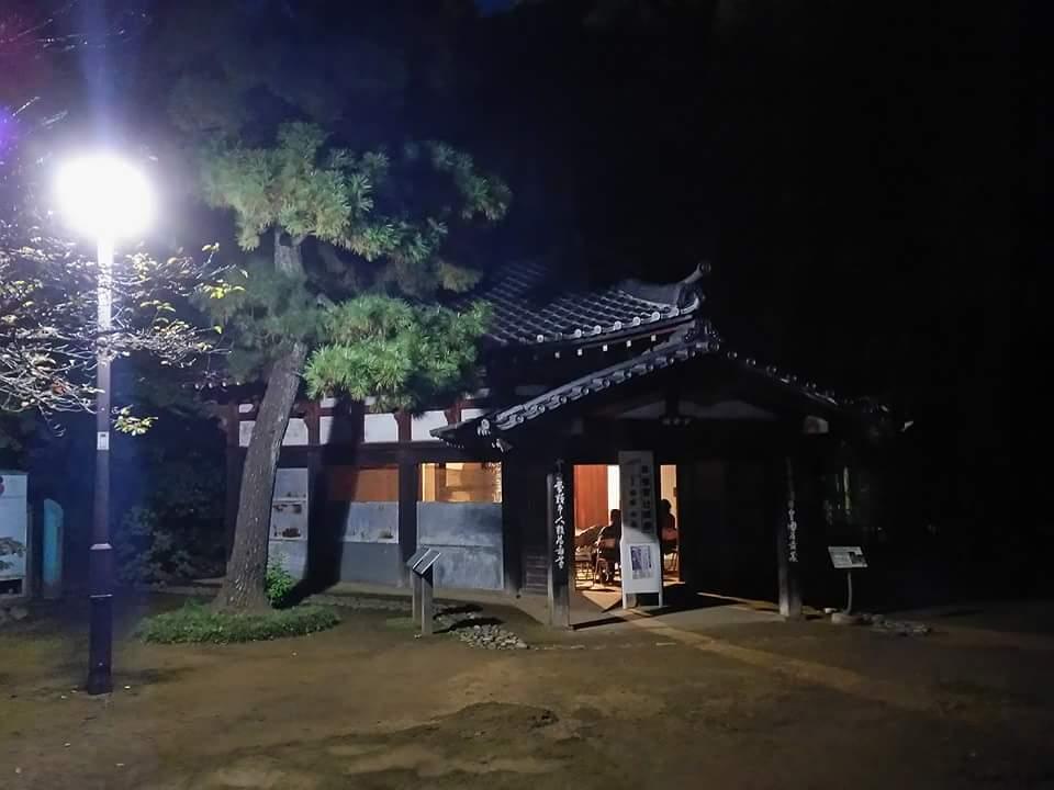 怪談の夕べ 哲学堂公園